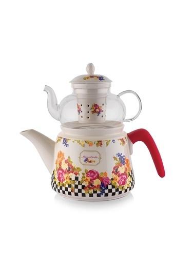 Potsdam 4 Parça Porselen Çaydanlık-Schafer